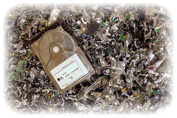 We're Ready to Help - Full Service Shredding Solution - Electronic Media - Shredded Hard Drives - The Shredding Company, Inc.